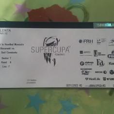 Vând Bilet la Supercupa României la Handbal Masculin 2017