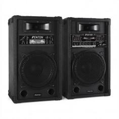 Skytec set de boxe activ PA 25 cm 800W USB-SD-MP3 - Boxa activa