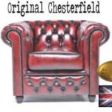 Fotoliu Chesterfield Brighton Antique Red - Fotoliu living
