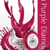 Gel uv Semilac Geltaq color Purple Diamond 011 5 ml, gel uv unghii - Gel unghii