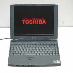 Laptop vintage Toshiba Portege 7010CT - Laptop Toshiba, Intel Pentium, Diagonala ecran: 12, Sub 1 GB, Sub 80 GB