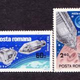 Timbre ROMANIA 1969/*702 = APOLLO 9 SI 10, Stampilat