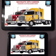 GPS Auto Navigatie AUTO, TAXI, GPS TIR, GPS CAMION, HARTI EUROPA 2017, 5 inch, Toata Europa, Lifetime, Harta online: 1, Redare audio: 1