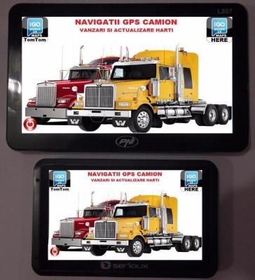 GPS Auto Navigatie AUTO, TAXI, GPS TIR, GPS CAMION, HARTI EUROPA 2017 foto