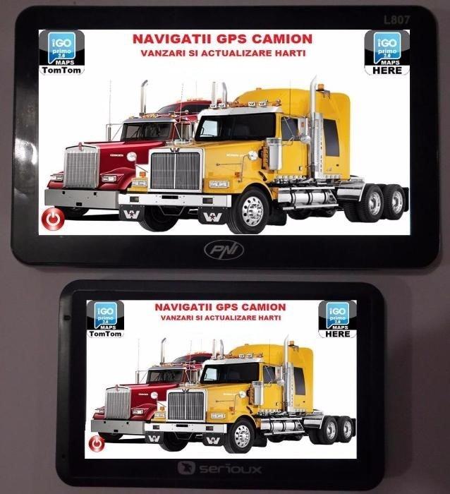 GPS Auto Navigatie AUTO, TAXI, GPS TIR, GPS CAMION, HARTI EUROPA 2017