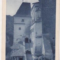 bnk cp Castelul Bran - Vedere - interbelica