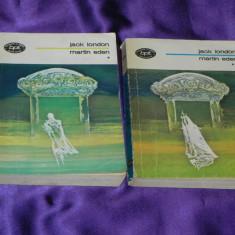 Jack London - Martin Eden vol 1-2 colectia bpt 877-878 (f0658 - Roman