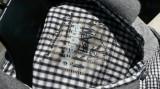 DESIGUAL camasa barbati nr.S originala, Maneca lunga, Negru