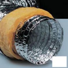 Tubulatura flexibila izolata din aluminiu Ode - 102 mm