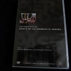 Salo - Pasolini - dvd - Film Colectie Altele, Italiana
