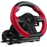 Volan cu pedale SpeedLink Trailblazer, pentru PC, PlayStation 3, PlayStation 4, XBox One, Negru/Rosu