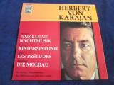 Herbert von Karjan.Mozart.Haydn.Liszt.Smetana - Eine Kleine Nachtmusik.._vinyl