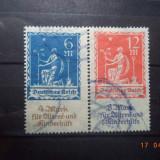 1922 Germania ( Reich ) Mi 233 - 234 Serie completa Cota = 150, 00 Euro., Stampilat
