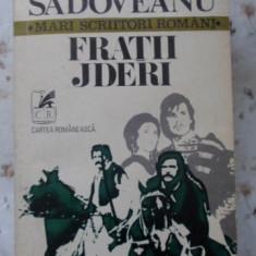 Fratii Jderi - Mihail Sadoveanu, 400565 - Roman