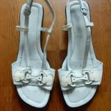 Pantofi Geox, piele naturala. Marime 39 (25.5 cm talpic interior); impecabile