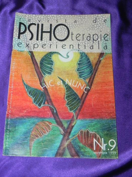 Revista de Psihoterapie Experientiala nr 9 1999 (f3207 foto mare