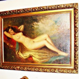 ABLOU NUD SEMNAT ASZTALOS GYULA - Pictor strain, Ulei, Impresionism