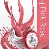 Gel uv Semilac Geltaq color roz Pink Rose 064 5 ml, gel uv unghii - Gel unghii
