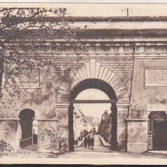 Bnk cp Brasov - Poarta dela Strada Orfanilor - necirculata interbelica, Printata
