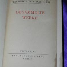 Friedrich Schiller - Gesammelte Werke 1927 germana (f0599 - Carte Teatru