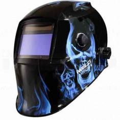 Masca de sudura automata Fantom 4 Blue skull