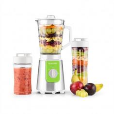 Klarstein Shiva Blender Smoothie Mini Blender de sticlă 0.8L cana 350W BPA-free inoxidabil verde, 300 W