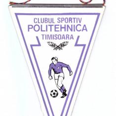 Fanion musama Clubul Sportiv Politehnica Timisoara 1980