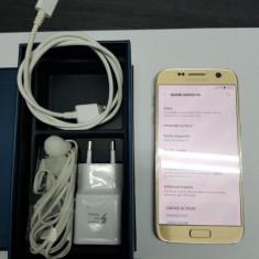 Telefon Samsung Galaxy S7, Auriu, 32GB, Neblocat, Single SIM