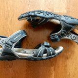 Sandale Geox Respira piele naturala.Marime 37 (25 cm talpic interior);impecabile