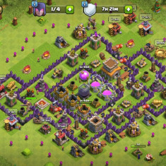 Cont clash of clans town hall 8 si builders hall 3 - Jocuri PC Supercell