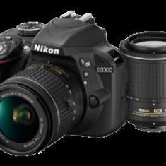 D3300 Dual Zoom Kit (AF-P 18-55 VR + 55-200 VR II) - DSLR Nikon