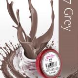 Gel uv Semilac Geltaq color Grey 017 5 ml, gel uv unghii - Gel unghii