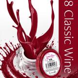 Gel uv Semilac Geltaq color Classic Wine 028 5 ml, gel uv unghii - Gel unghii