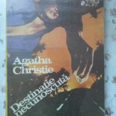 Destinatie Necunoscuta - Agatha Christie, 400619 - Carte politiste