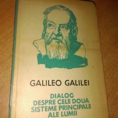 Galileo Galilei: Dialog deapre cele doua sisteme principale ale lumii - Filosofie