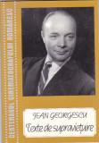 JEAN GEORGESCU - TEXTE DE SUPRAVIETUIRE