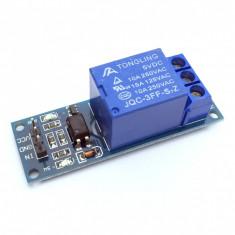 Modul de comanda cu releu prin optocuplor la 5V, cod: 10104507