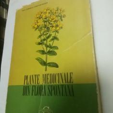 PLANTE MEDICINALE DIN FLORA SPONTANA - Corneliu Constantinescu, Artin Agopian