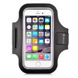 Husa Universala Devia Armband Sport-Fit Black (pentru smartphone de pana in 5)