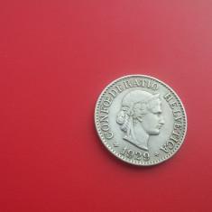 10 RAPPEN 1929-ELVETIA-XF++++-RAR, Europa