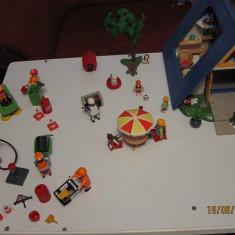Playmobil Casuta de vacanta+Muncitori