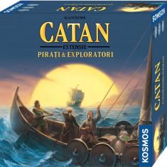 Extensie Catan - Exploratori si Pirati 4 jucatori - Joc board game