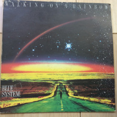 Blue System Walking On A Rainbow disc vinyl lp muzica pop disco balkanton 1987, VINIL