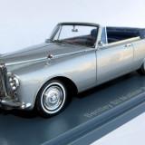 Neo Bentley SII Mulliner Park Ward ( silver ) cabriolet 1962 1:43 - Macheta auto Alta