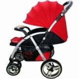 Cărucior nou născut Baby Care FK 8600 - Rosu