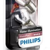 Bec lampa spate Philips P21W VisionPlus 2 bucati