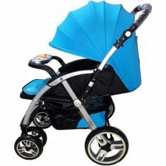 Cărucior nou născut Baby Care FK 8600 - Albastru