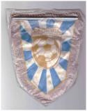 Fanion textil C.S. Chimia Rimnicu Vilcea 1973