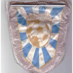 Fanion textil C.S. Chimia Rimnicu Vilcea 1973 - Fanion fotbal