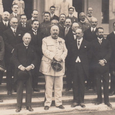 MILITARA  GENERAL  BERTHLOT  VIZITA  IN BUCURESTI IN 1924